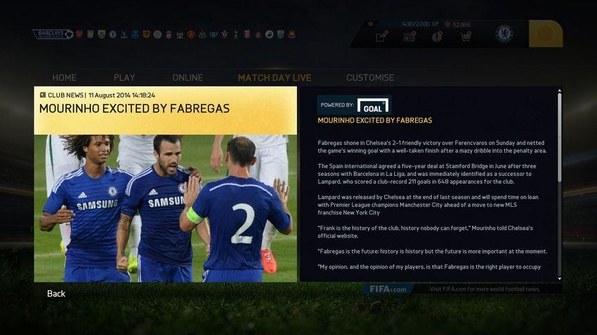 19 FIFA 15 CAREER MODE STRIKERS